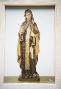 Sainte Hildegarde de Bingen - Conseillère Hildegardien - Brigitte MOREL - Naturopathe - Reflexologue plantaire